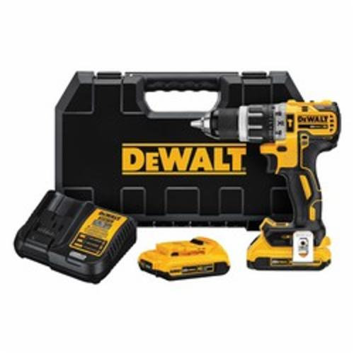 20V MAX* DCD796D2 Compact Light Weight Cordless Hammer Drill Kit