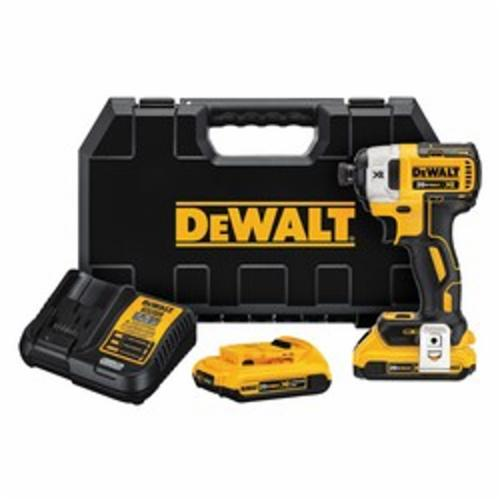 20V MAX* DCF887D2 Compact Light Weight Cordless Impact Driver Kit