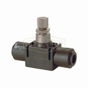 Legris by 77700400 In-Line Flow Control Valve, 15 to 145 psi, Nylon Body
