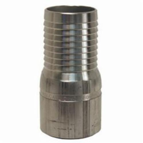 The Right ConnectionASTB35 King Combination Nipple, 3 x 3-1/2 in, Hose Barb x Beveled End, Aluminum