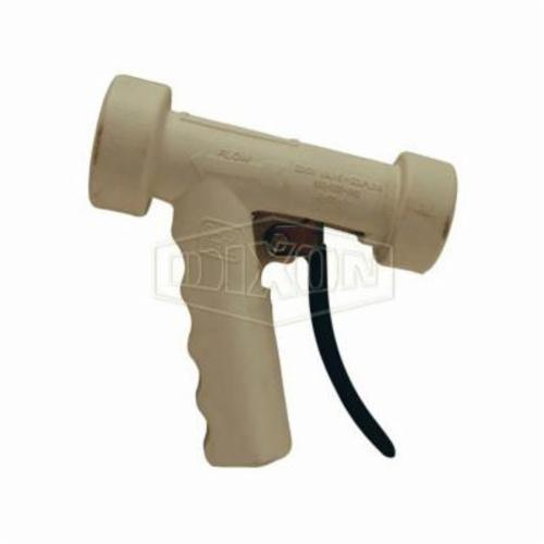 AWSG-W Hot Water Washdown Spray Nozzle, FNPT, 12.5 gpm, 150 psi, Aluminum, White, Domestic