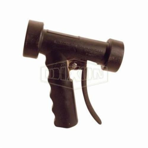 AWSG Hot Water Washdown Spray Nozzle, FNPT, 12.5 gpm, 150 psi, Aluminum, Black, Domestic