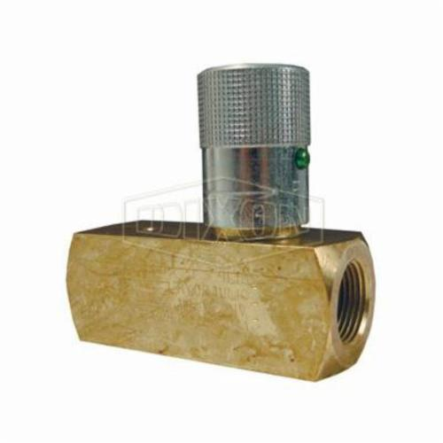 F Series Flow Control Valve, 1 in, 500 psi, Brass
