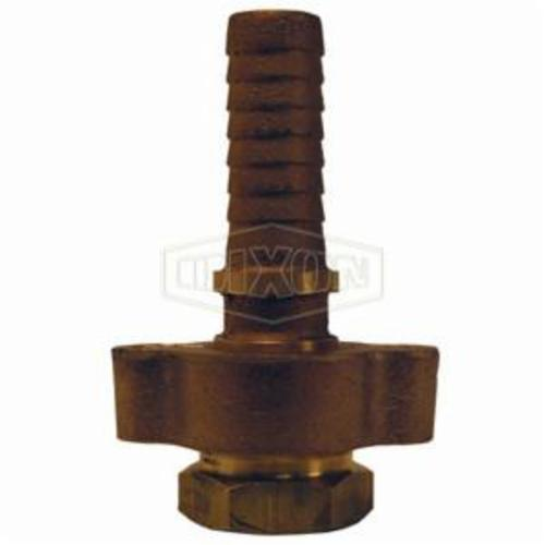 Ground Joint Coupling, 2 in, FNPT, Brass, Domestic