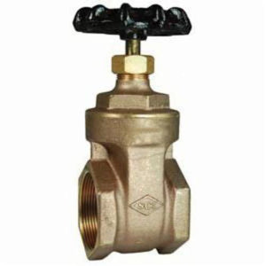 BGV300 Gate Valve, 3 in, FNPT, Brass, Iron Handwheel Actuator