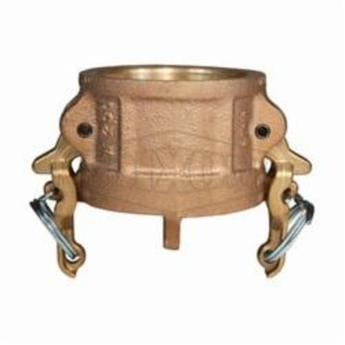 Boss-LockType H Cam and Groove Dust Cap, 2 in, Brass, Domestic