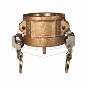 EZ Boss-LockType H Cam and Groove Dust Cap, 3 in, Brass, Domestic