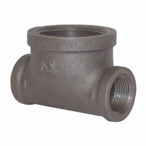 BHT1015 Bull Head Tee, 1 x 1 x 1-1/2 in, FNPT, Iron