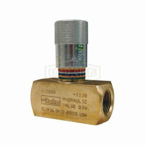 N Series Flow Control Valve, 2000 psi, Brass
