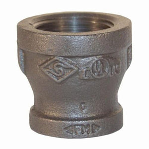 BR1510 Bell Reducer, 1-1/2 x 1 in, FNPT, Iron