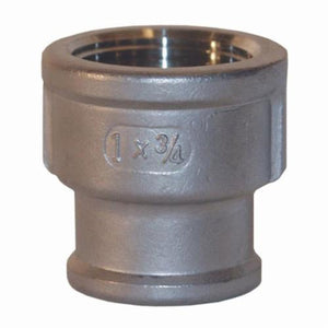 BR1075SS Threaded Bell Reducer, 1 x 3/4 in, FNPT, Reducer, 150 lb, 316 Stainless Steel