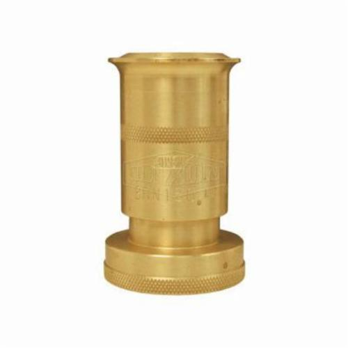 BRN150NST Rack Nozzle, 1-1/2 in Inlet, Brass, NST (NH) Thread, Domestic
