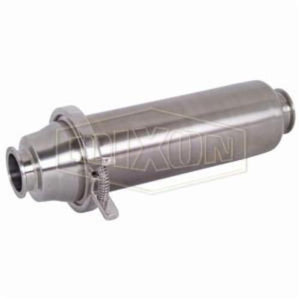 BSCCQ1-R100 Short In-Line Strainer, 1 in, 316L Stainless Steel, Domestic