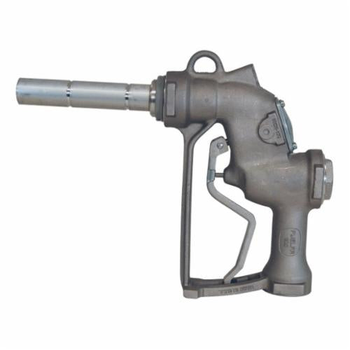 Fueler 100Automatic High Flow Diesel Nozzle, 75 gpm, 1-1/2 in FNPT Inlet, 1-3/8 in Spout Outlet, 30 psi