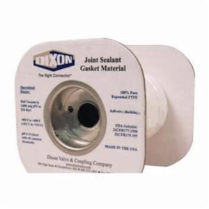 The Right ConnectionLCJS4-50 Joint Sealant Tape With Adhesive Backing, 1/4 in W x 50 ft L, PTFE