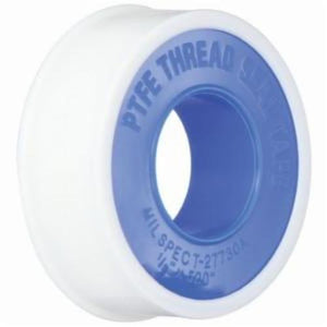 The Right ConnectionTTB100 Thread Sealant Tape, 1 in W x 520 in L, 3.5 mil THK, PTFE