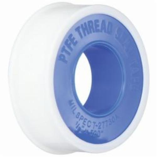 The Right ConnectionTTC50 Thread Sealant Tape, 1/2 in W x 1296 in L, 3.5 mil THK, PTFE