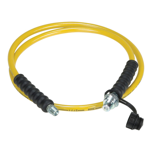 H700 High Pressure Hydraulic Hose with CH-604 coupler end, 3/8 in, FNPT, 6 ft L, 10000 psi, Thermoplastic