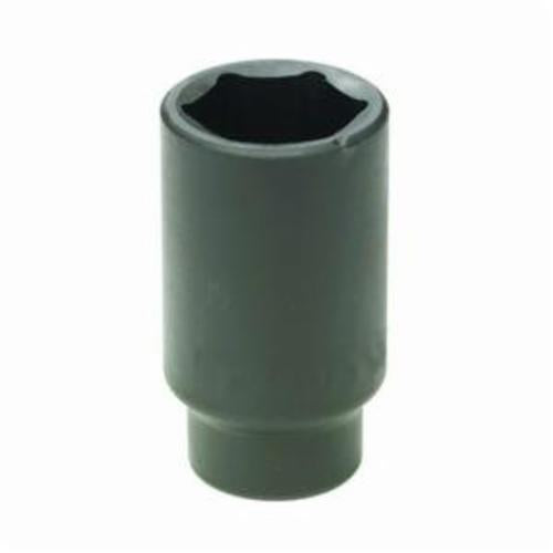 GearWrench 3449D Deep Length Metric Axle Nut Socket, 34 mm Socket, 1/2 in Drive, 6 Points