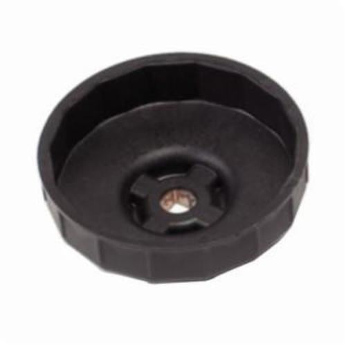GearWrench 3861D End Cap Metric Oil Filter Wrench, 74 - 76 mm, Fiber Reinforced High Impact Plastic