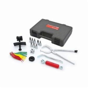 GearWrench 41520 Brake Service Set, 15 Pieces, 3/8 in Drive, For Use With Disc and Drum Brake Systems, Alloy Steel