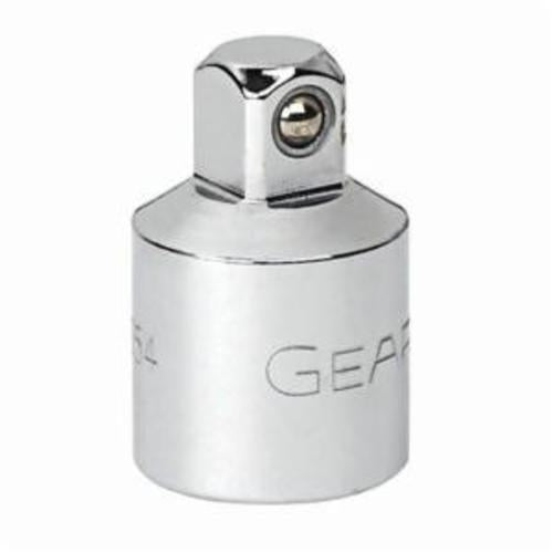GearWrench 81127 Socket Adapter, 3/8 in Male, 1/4 in Female, 1 in OAL