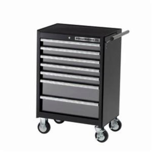 GearWrench GET IT DONE XL Heavy Duty Roller Cabinet, 39 in H x 26-1/2 in W x 18 in D, Steel, Aluminum Handle