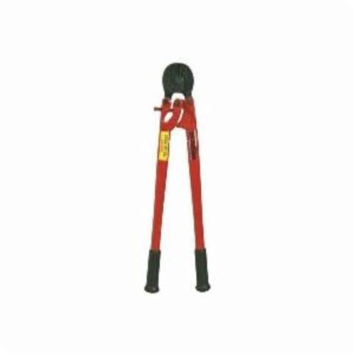 H.K. Porter 1490MTN Notched Shear Cut Cable Cutter, 1/4 in, 14 in L, Forged Alloy Steel Jaw, Straight Handle