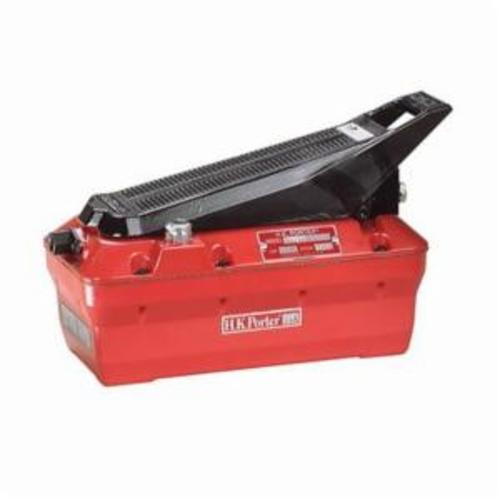 H.K. Porter HKA01 Light Duty Portable Air Operated Hydraulic Pump, 12 cu-in/min at 7800 psi