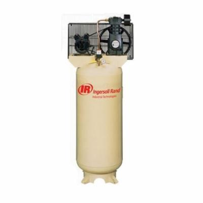 Ingersoll-Rand SS3L3 Air Compressor, 1 Stages, Splash Lubrication, 3 hp, 10.3 cfm at 90 psi, 60 gal Tank