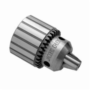 Jacobs 6291 Fluted Medium Duty Bore Drill Chuck, 0.08 - 0.5 in, 5/8 in Straight Mount, Plain Bearing, K32 Key Number