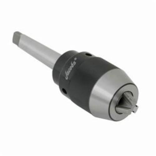 Jacobs 31408D High Precision/High Torque Keyless Drill Chuck With Integrated Shank, 0.039 - 0.512 in, NO 2 MT Mount