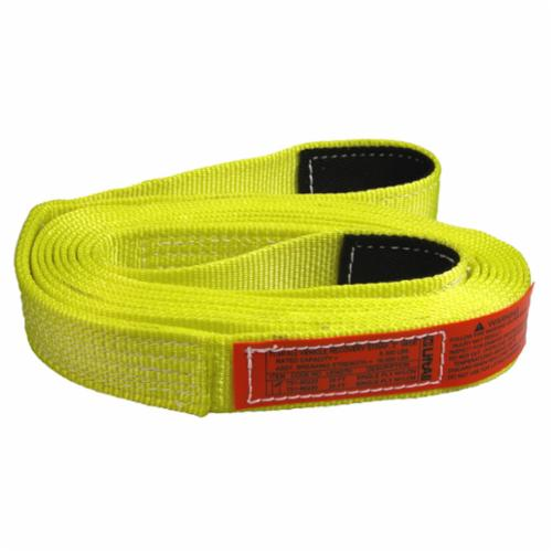 TOW-ALL, Webmaster 1600 TS2802NX20 2-Ply Tow Strap, 10700 lb, 2 in, 20 ft L, Nylon