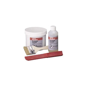 40591 Nordbak PC 7227 2-Part Abrasion Resistant Brushable Ceramic, 2 lb, Liquid/Paste, Amber/Blue, 12 sq-ft, 7 Days Curing