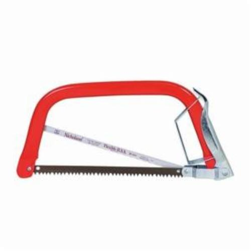 Nicholson 80777 Combination Bowsaw and Hacksaw, 12 in L, Standard Teeth, Alloy Steel/HSS Blade