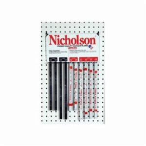 Nicholson 63103 Economy Solid Flexible Shatterproof Hacksaw Blade, 1/2 in W x 10 in L Blade, Carbon Steel Cutting Edge