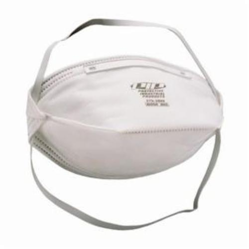 270-3000 Flat Fold Particulate Respirator Without Valve, One Size Fits Most, N95, 0.95, Adjustable/Latex-Free