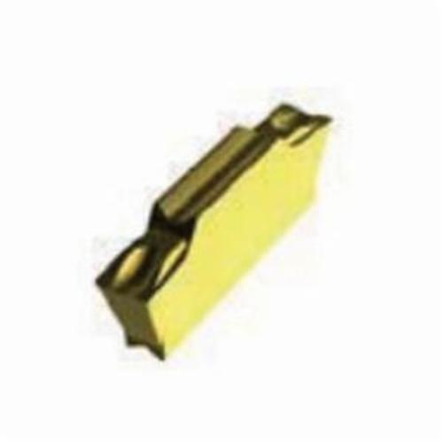 Pramet 6755654 Double Sided Cut-Off/Parting Insert, LCMF Insert, LCMF 041602R15-CM ISO, Carbide, T8330