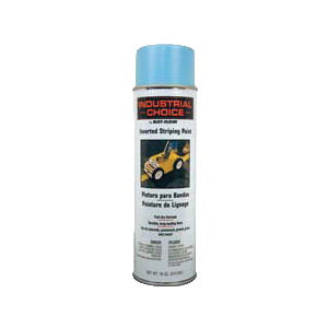 S1600 System Solvent-Based Inverted Striping Paint, 18 oz, Liquid, Blue, 150 Linear ft/gal with 4 in Stripe