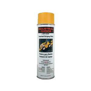 S1600 System Solvent-Based Inverted Striping Paint, 18 oz, Liquid, Yellow