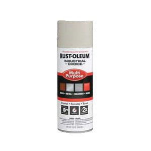1600 System Multi-Purpose Solvent Base Spray Paint, 12 oz, Aerosolized Mist, Almond, 12 to 15 sq-ft/can