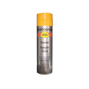 V2100 System High Performance Rust Preventative Spray Paint, 15 oz, Liquid, Yellow Caterpillar