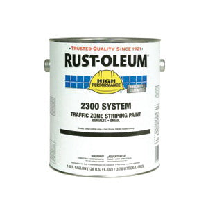 2300 System 1-Component Water Base Traffic Zone Striping Paint, 1 gal, Liquid, Traffic Blue