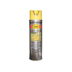 V2300 System Solvent-Based Inverted Striping Paint, 15 oz, Liquid, Hi-Viz Yellow