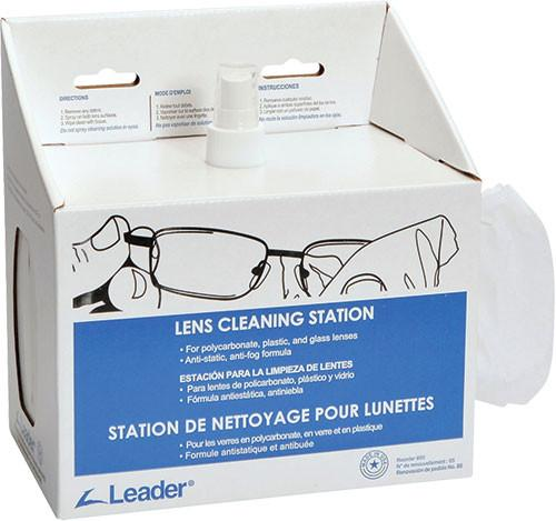 Lens Cleaning Disposable Station