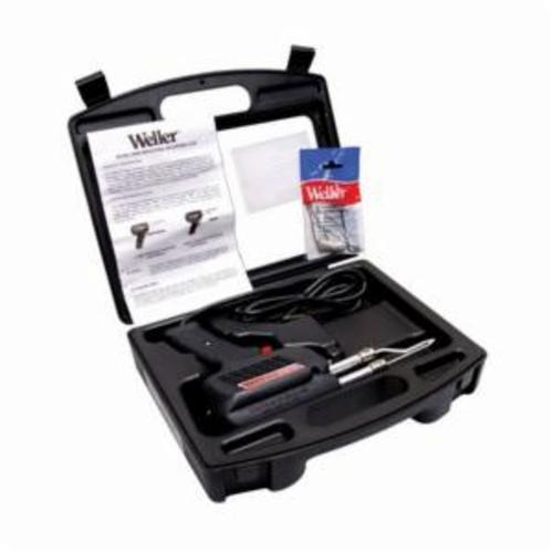 Weller D650PK Heavy Duty Industrial Grade Soldering Gun Kit, 300 - 200 W, 120 V, 1100 - 900 deg F, 6 ft L Cord