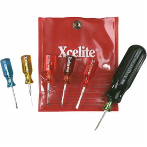 Xcelite M60 Screwdriver Set With Torque Amplifier, Imperial, 6 Pieces