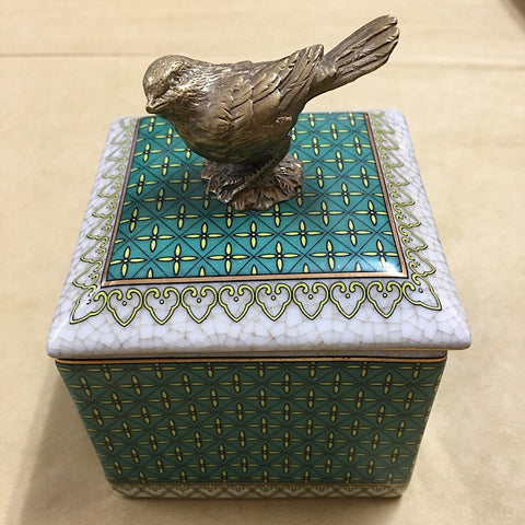 PACIFIC TRINKET BOX- BIRDE