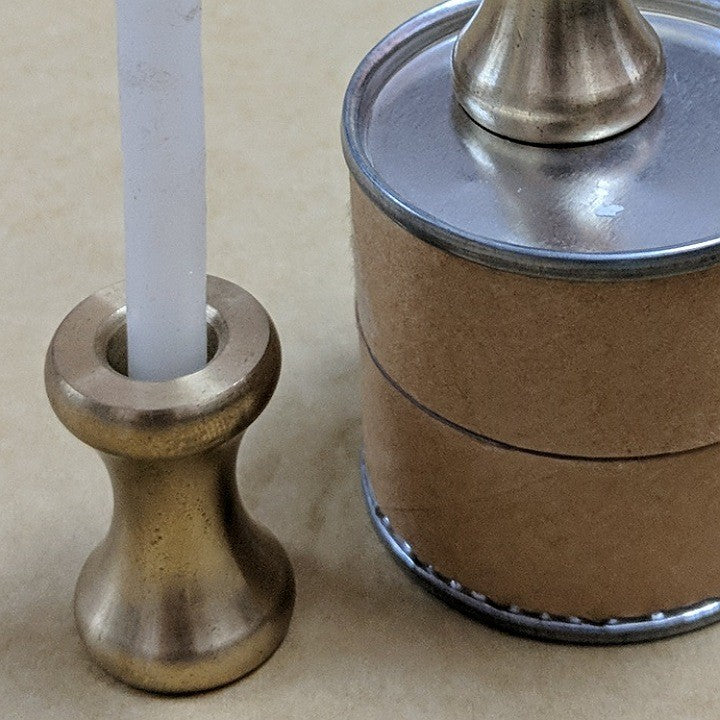 BRASS CANDLE STICK HOLDERS