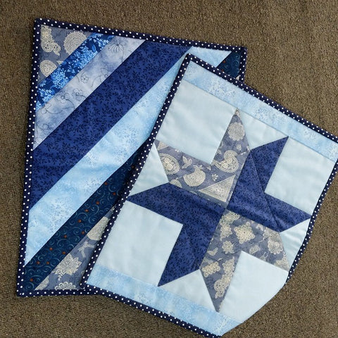 PLACE MATS - HAND SEWN PAIR